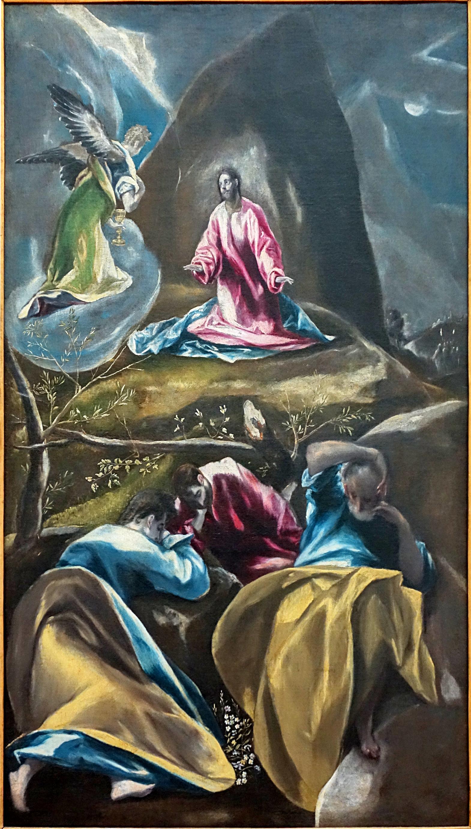 File lille pdba le greco jesus jardin des oliviers jpg for Au jardin des oliviers