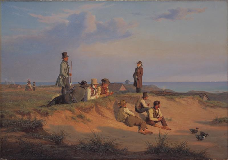 Men of Skagen on a Summer Evening in Fair Weather