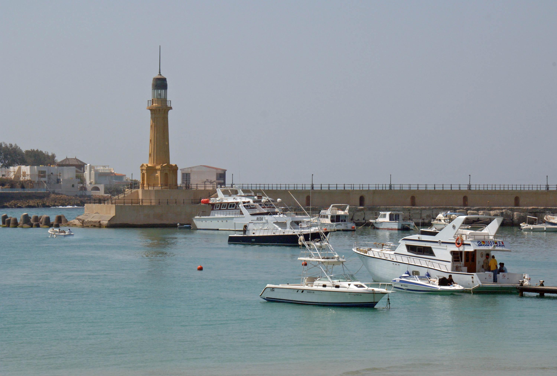 Alexandria Egypt  City pictures : Description MONTAZA MARINA LIGHTHOUSE, ALEXANDRIA, EGYPT