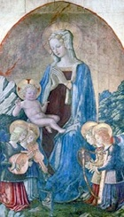 madonna and child with angels parmigianino - photo #24