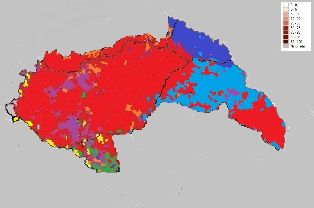 Picture of: File Magyarorszag 1941 1944 Ethnic Map Jpg Wikimedia Commons
