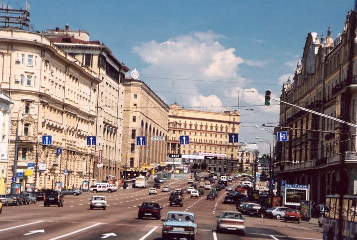 main street in moscow