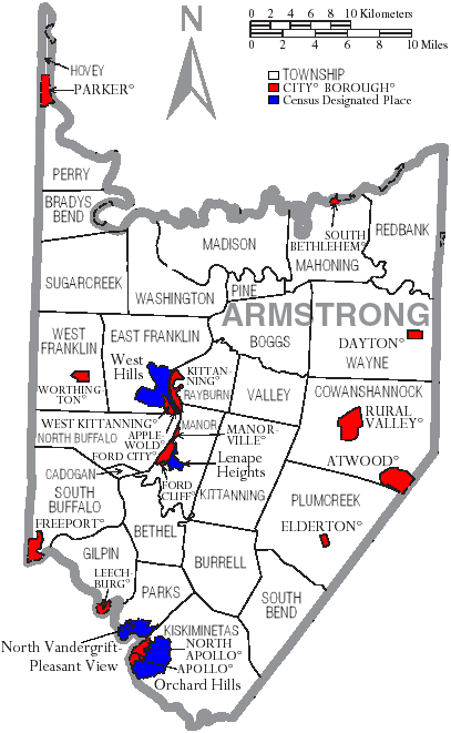 Armstrong County, Pennsylvania - Wikiwand