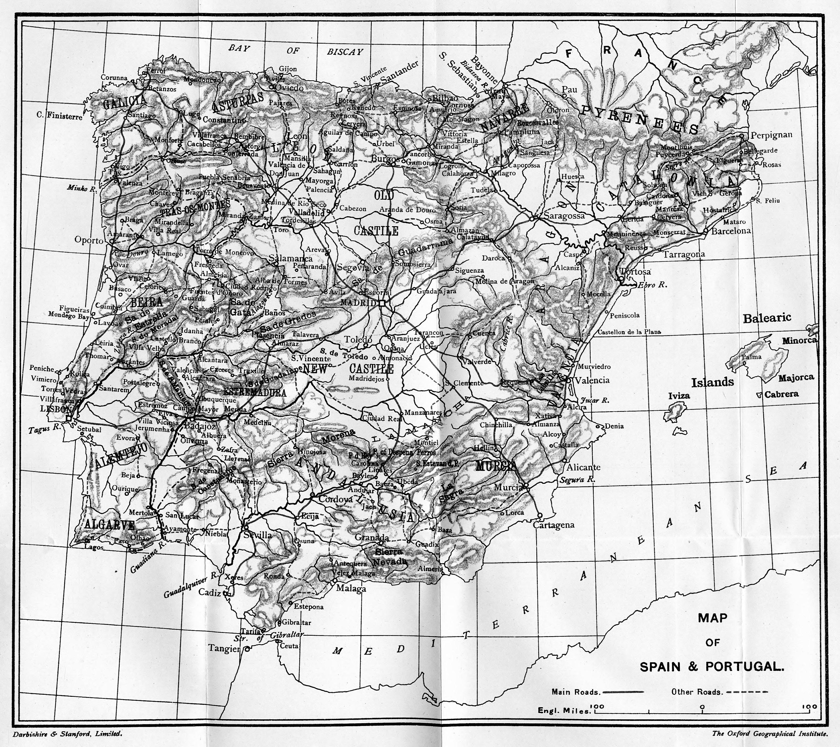 FileMap of Spain  Portugaljpg  Wikimedia Commons