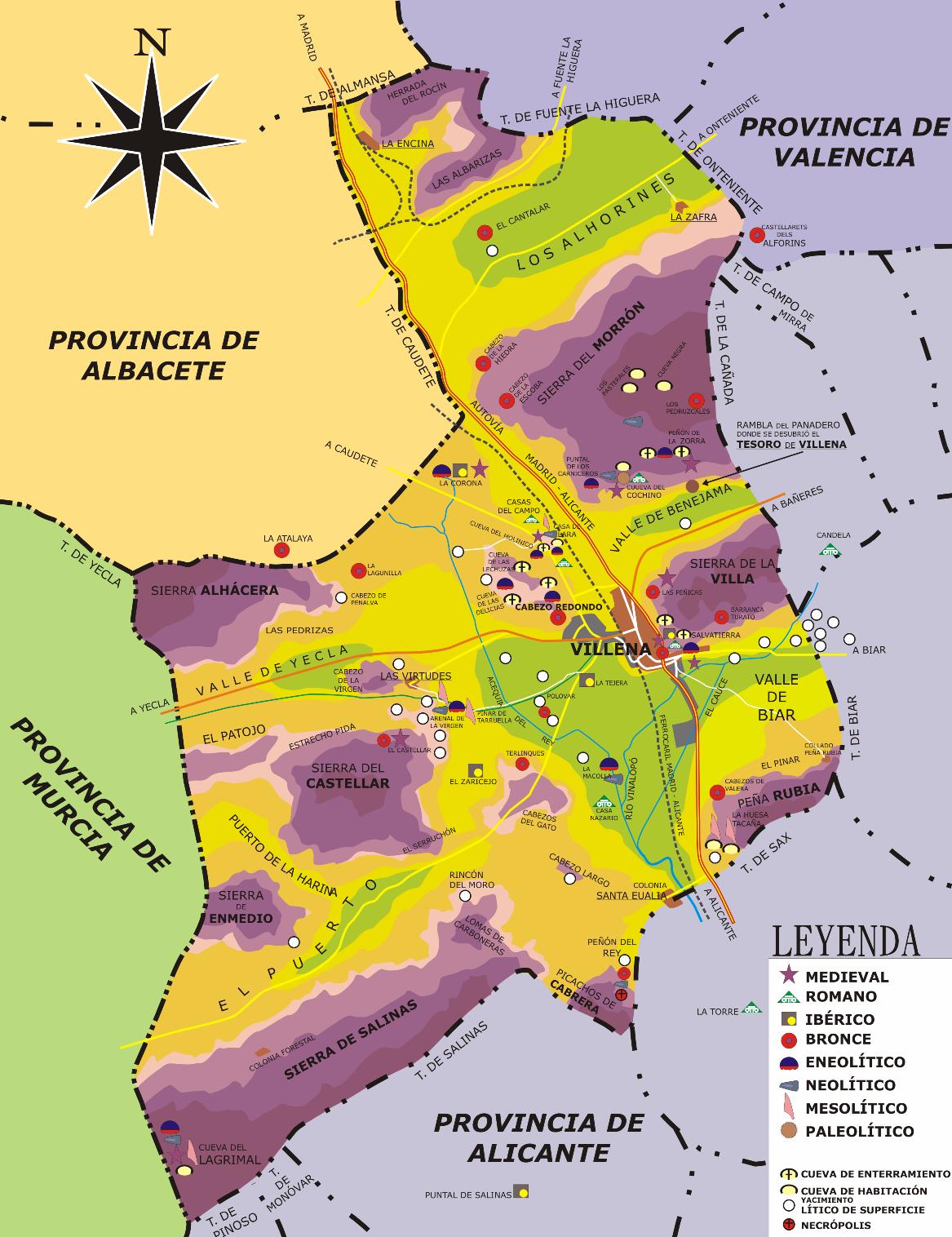 Historia de Villena  Wikipedia la enciclopedia libre
