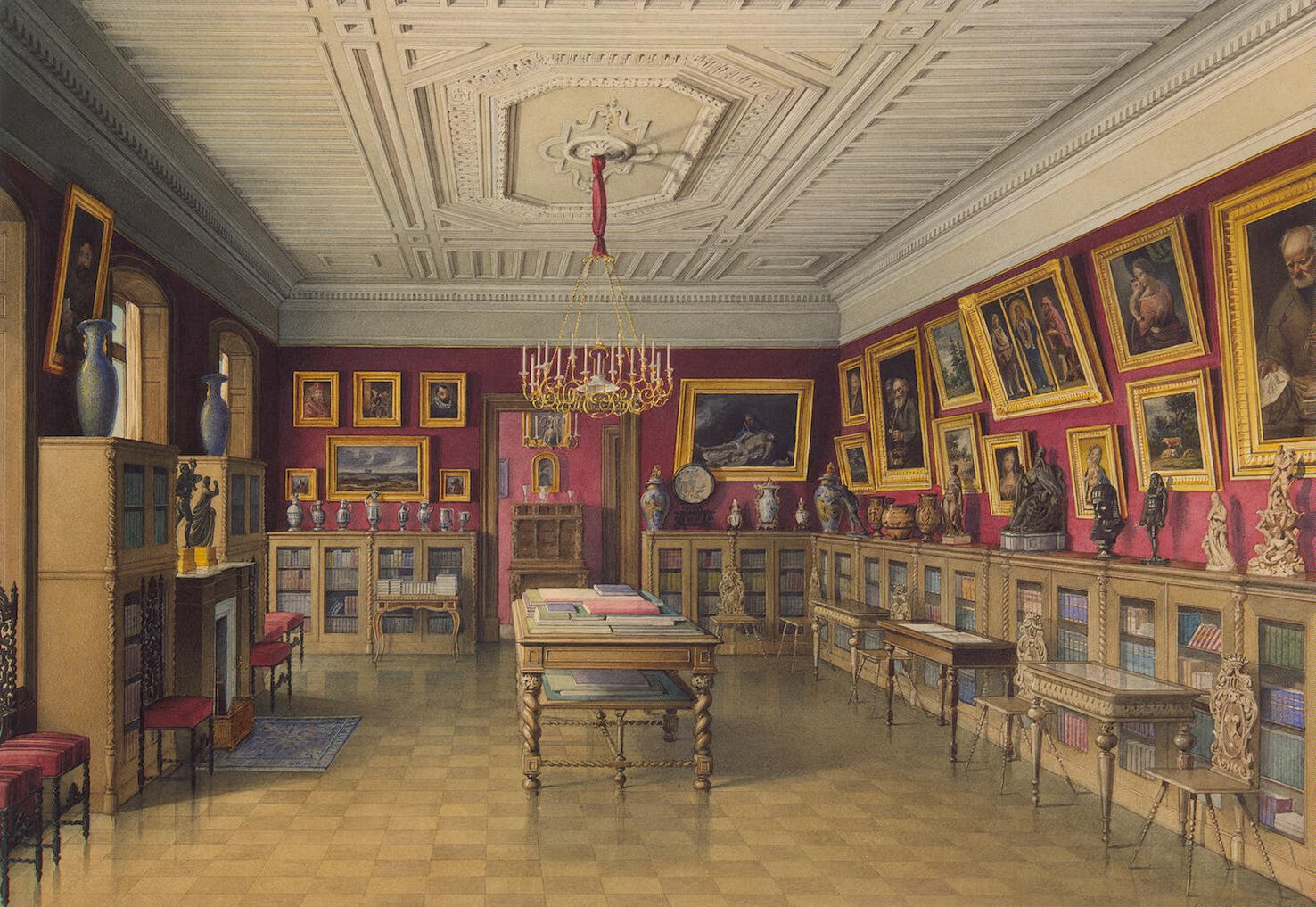 File Mayblum J Palace Of Count P S Stroganov Library