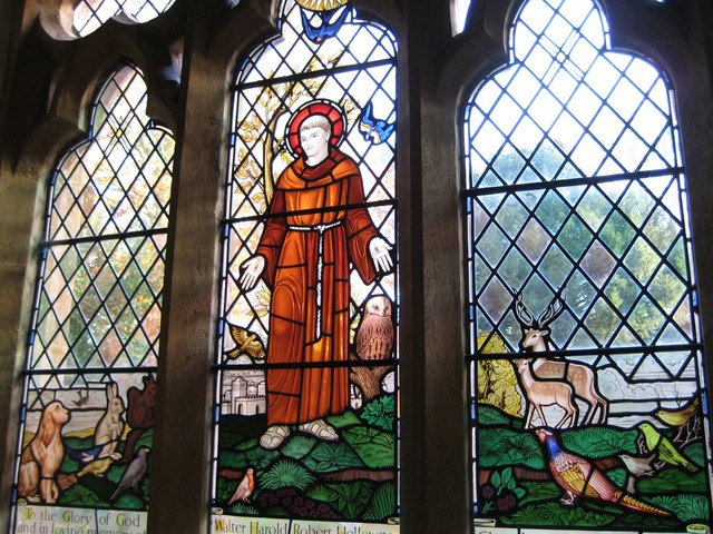 File:Memorial window - St Mary's Halstock - geograph.org.uk - 1042752.jpg