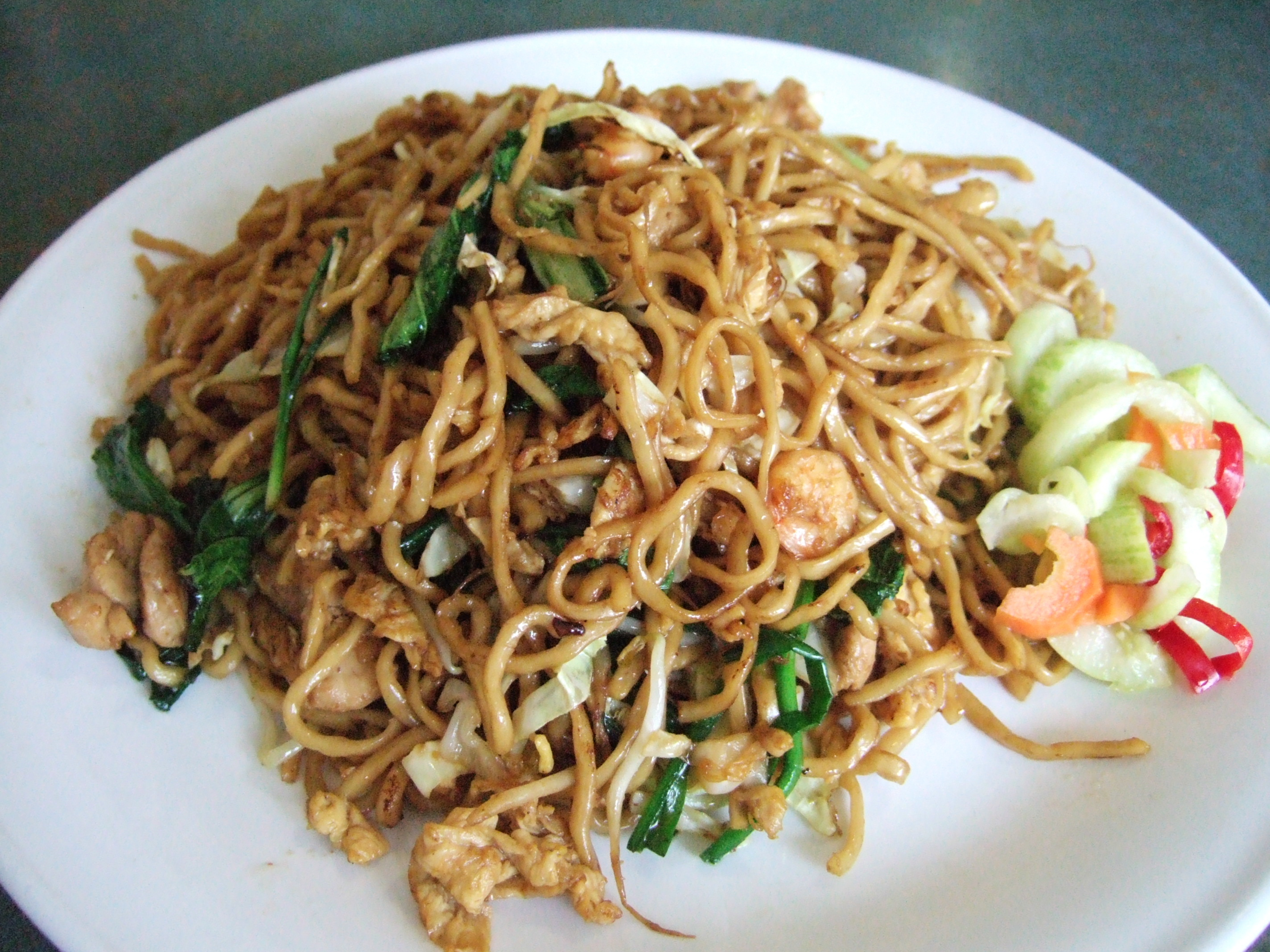 Mie Goreng (Indonesian Fried Noodles) Recipe — Dishmaps