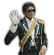 Michael Jackson glove jacket 1984
