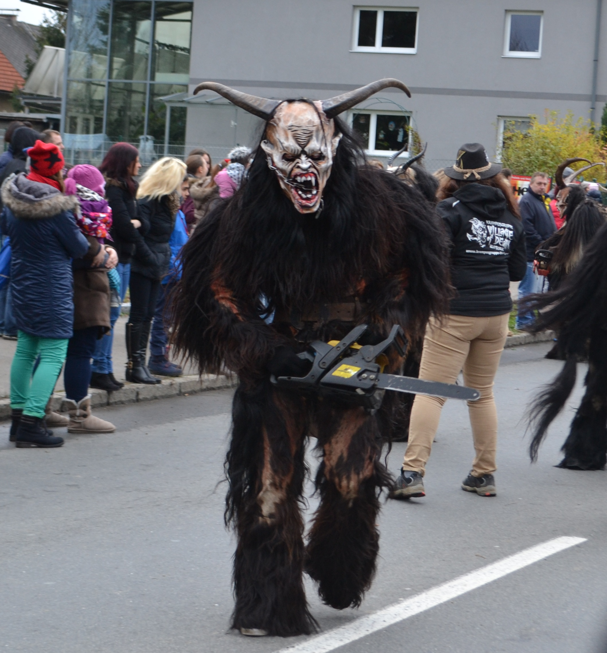 An image of a modern Krampus