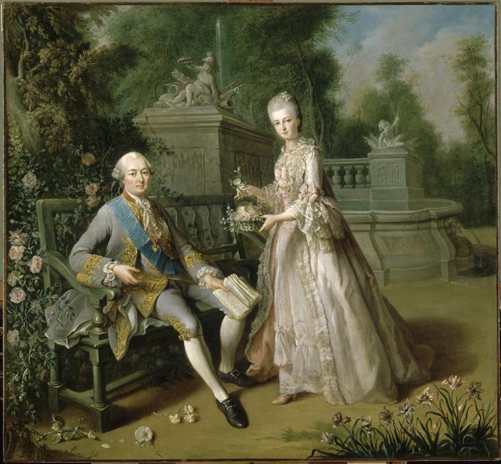 Fichier:Monsieur de Penthièvre and his daughter, Jean-Baptiste ...