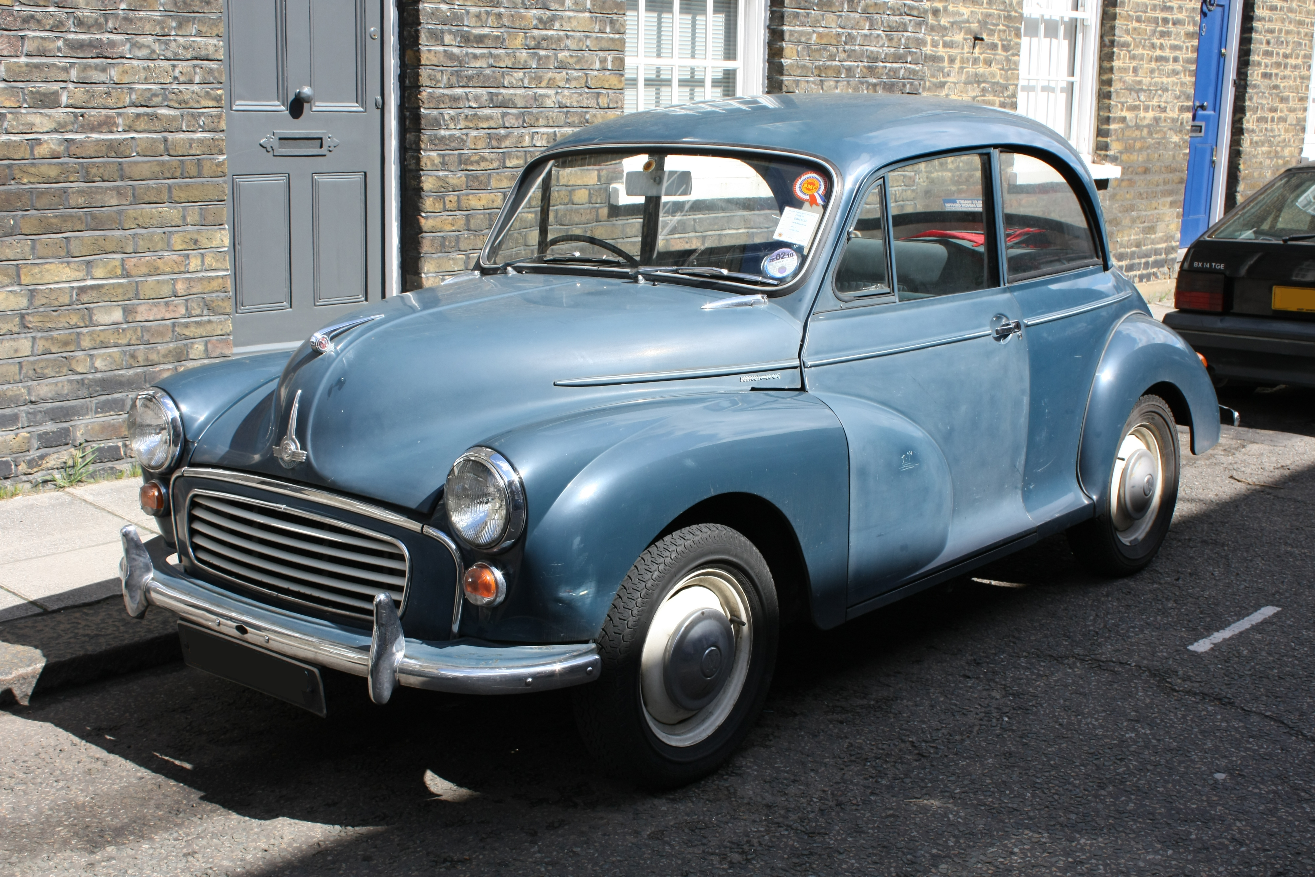 from Brentley dating a morris minor