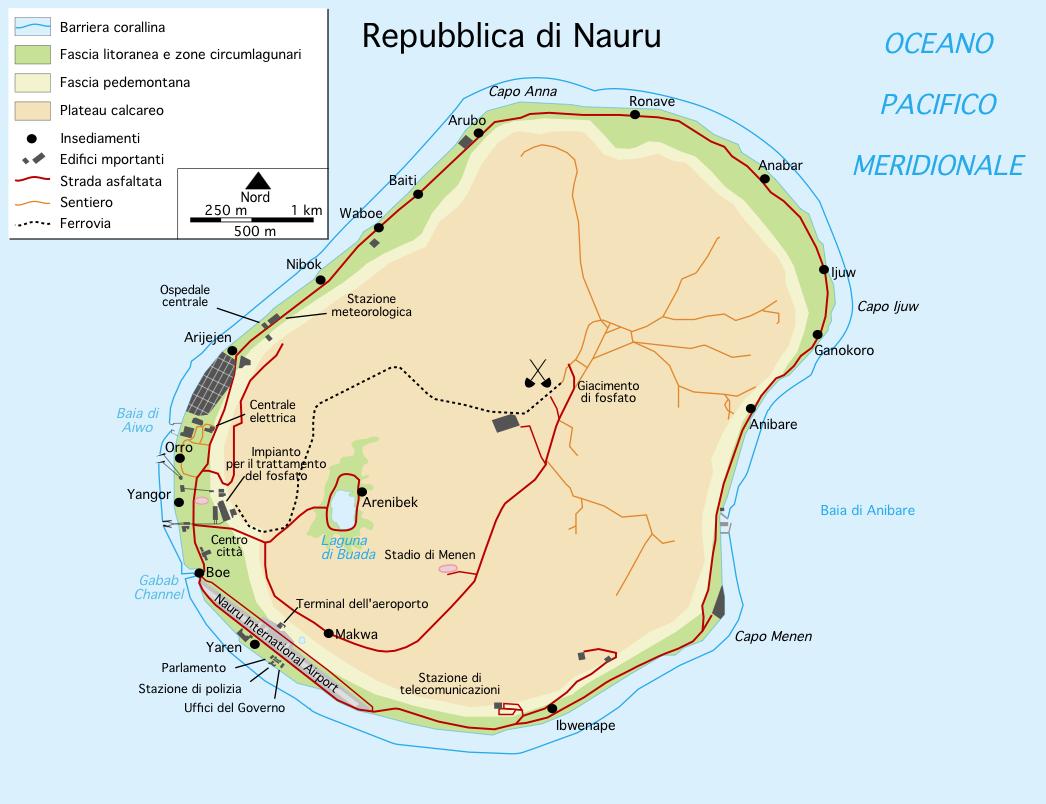FileNauru Map Italianpng Wikimedia Commons - Nauru map vector