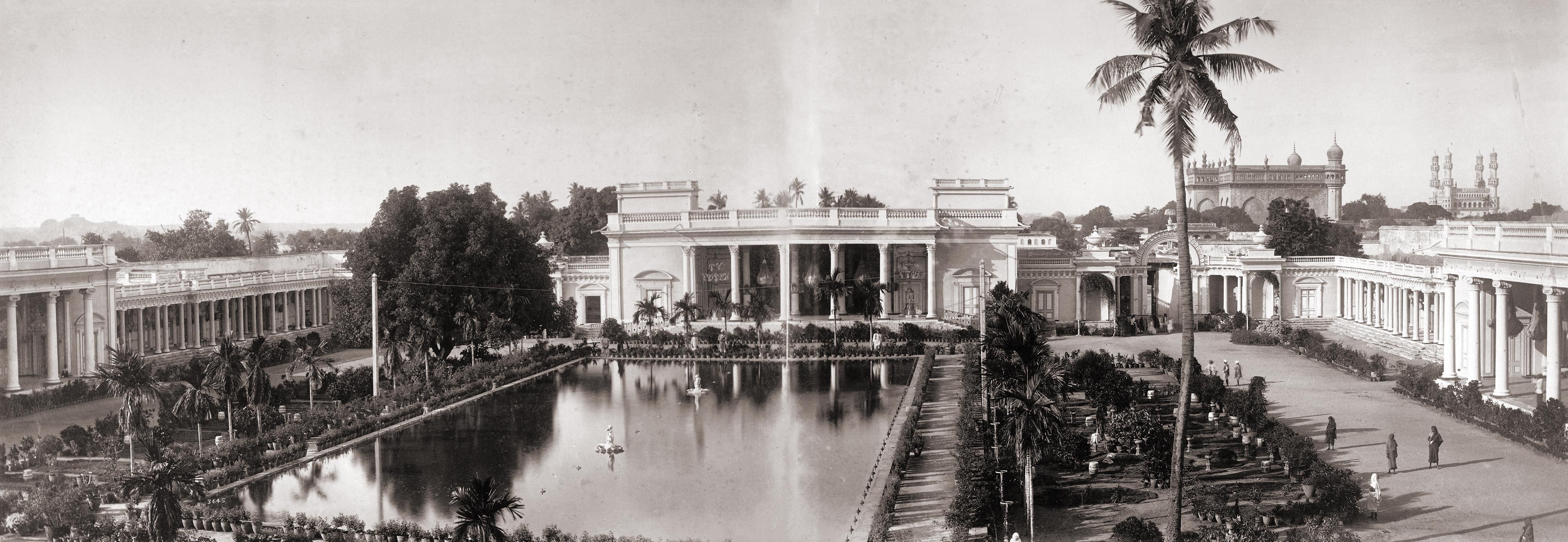 File Nizam S Chowmahela Palace Hyderabad India Jpg