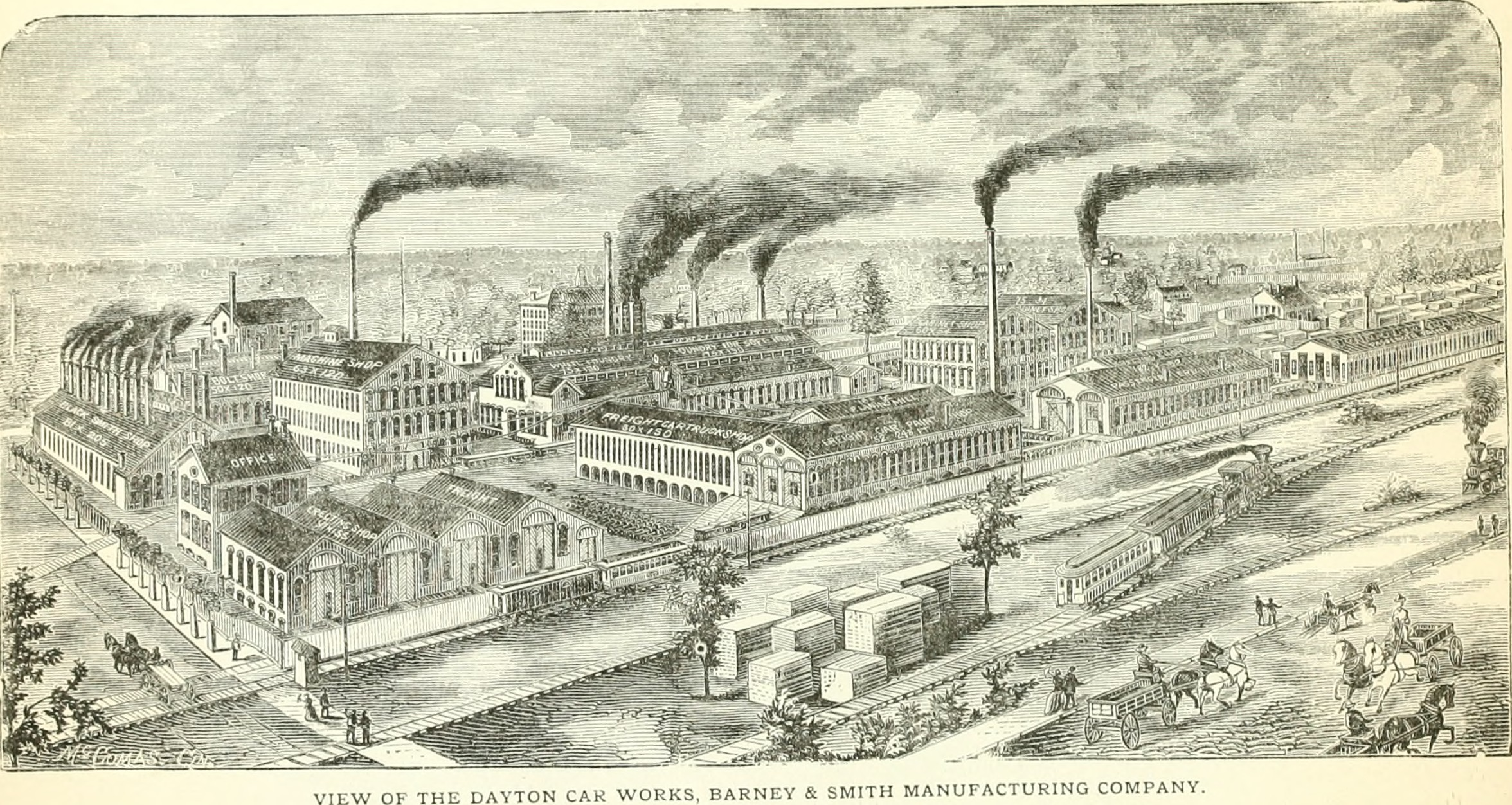 history of dayton car companies