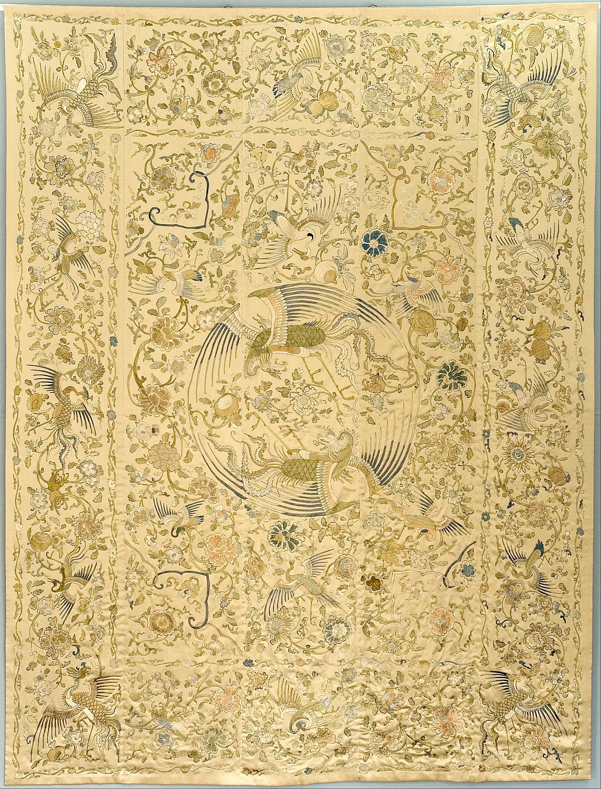 File:Oriental wall hanging the \'Quilt of Queen Marysieńka ...