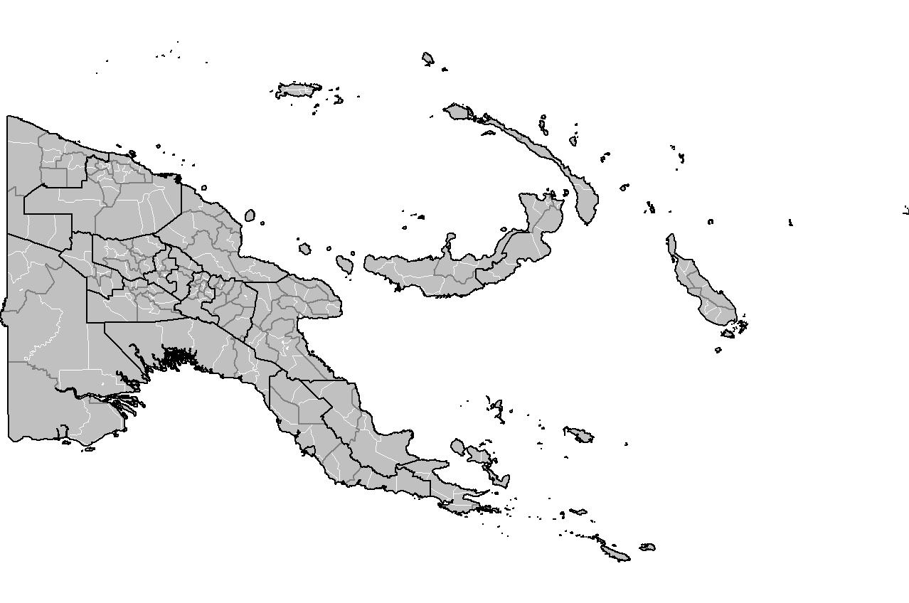 Atlas Of Papua New Guinea Wikimedia Commons - Papua new guinea map