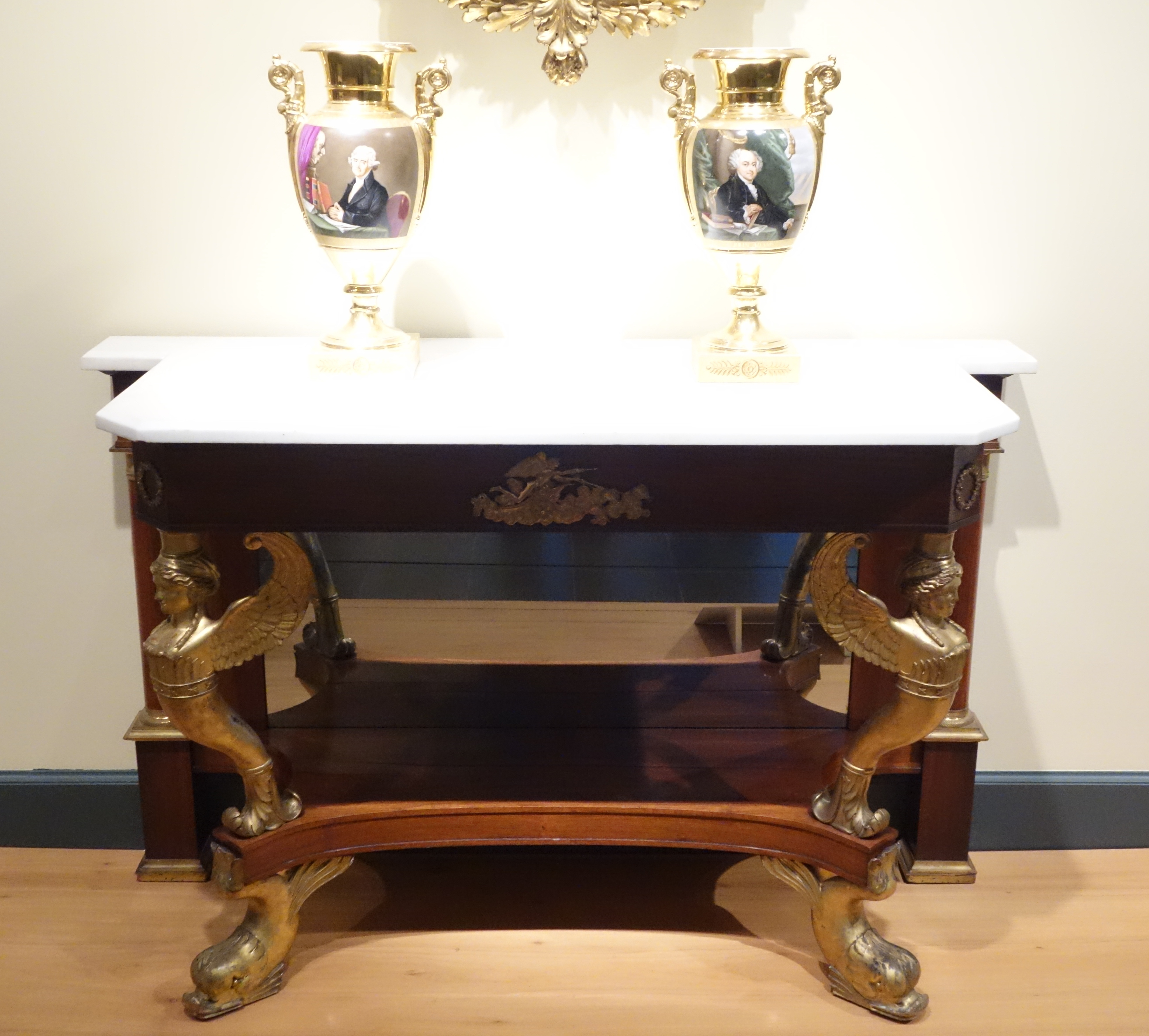 File Pier Table By Charles Honore Lannuier New York 1815