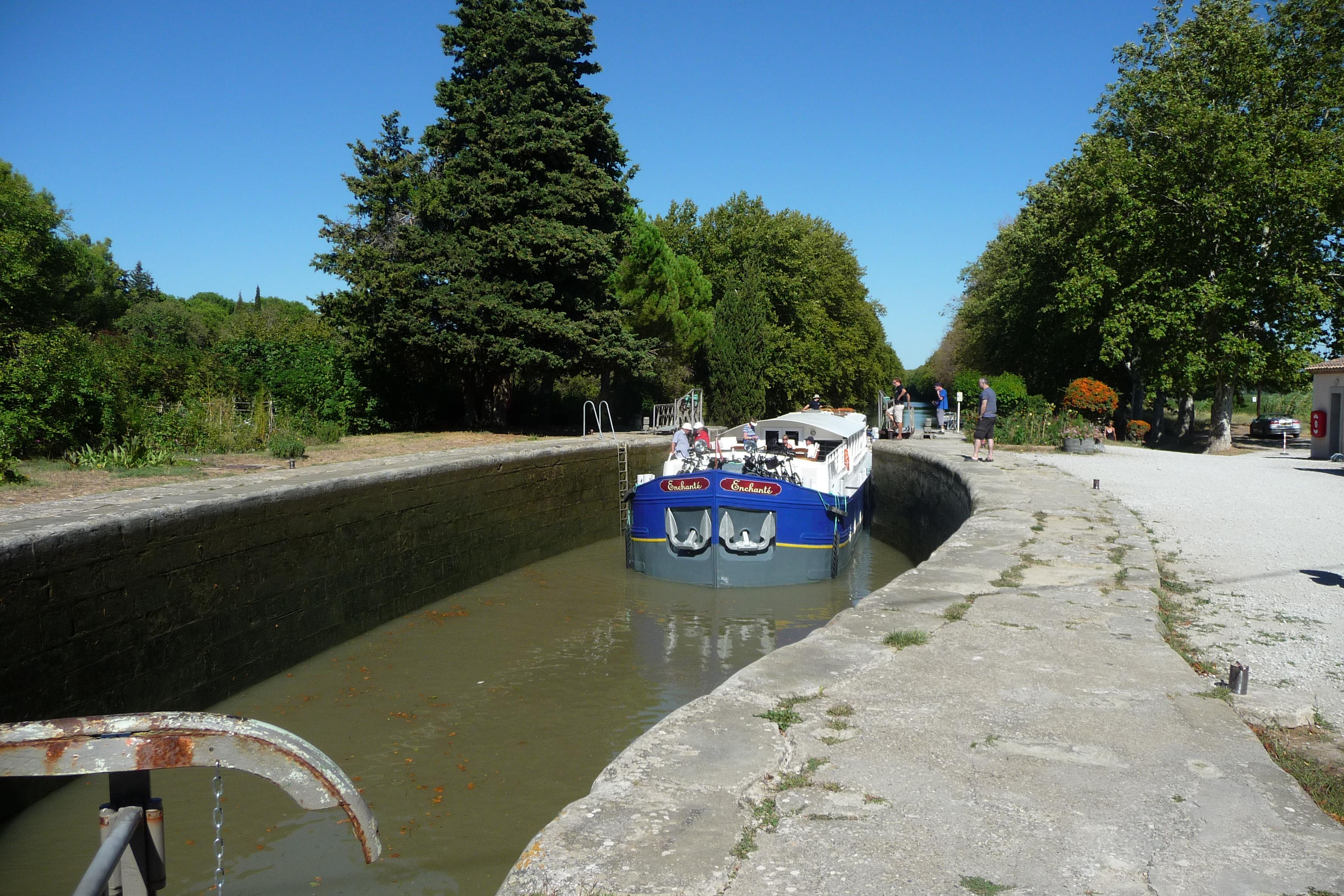 Puich�ric Lock - Canal du Midi (Nancy).JPG