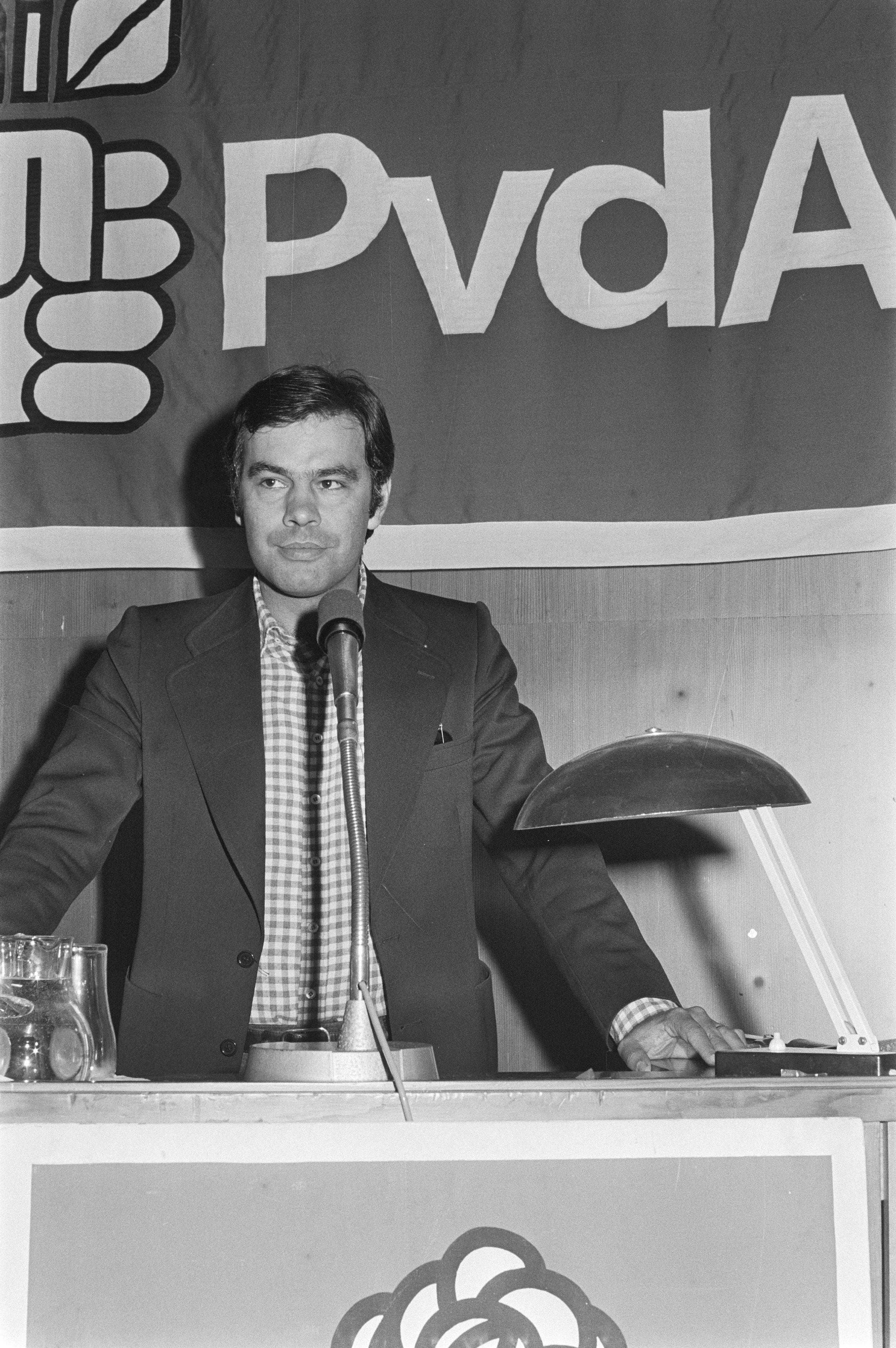 Felipe González en 1976.