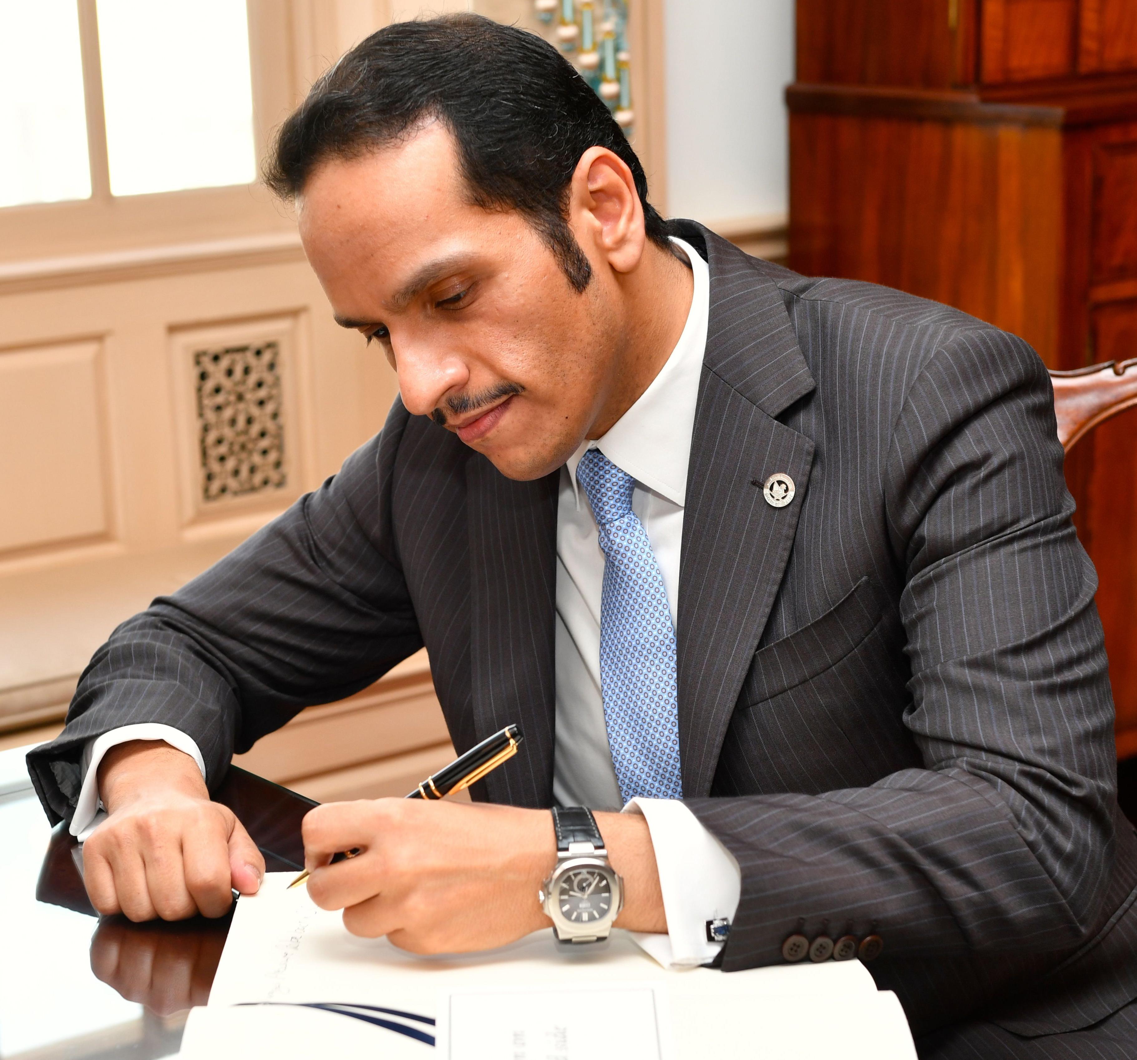 نتيجة بحث الصور عن محمد بن عبدالرحمن ال ثاني