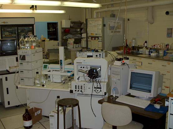Quattro II triple quadropole mass spectrometer