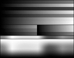 RGB 24bits palette color test chart - 4-bit gray dithered.png