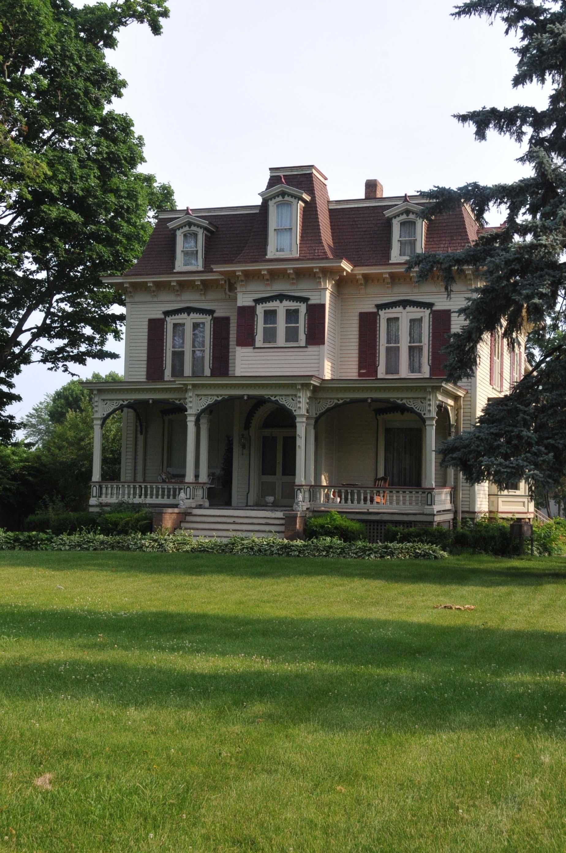 Illinois bureau county princeton - File Richard M Skinner House Bureau County Illinois Jpg