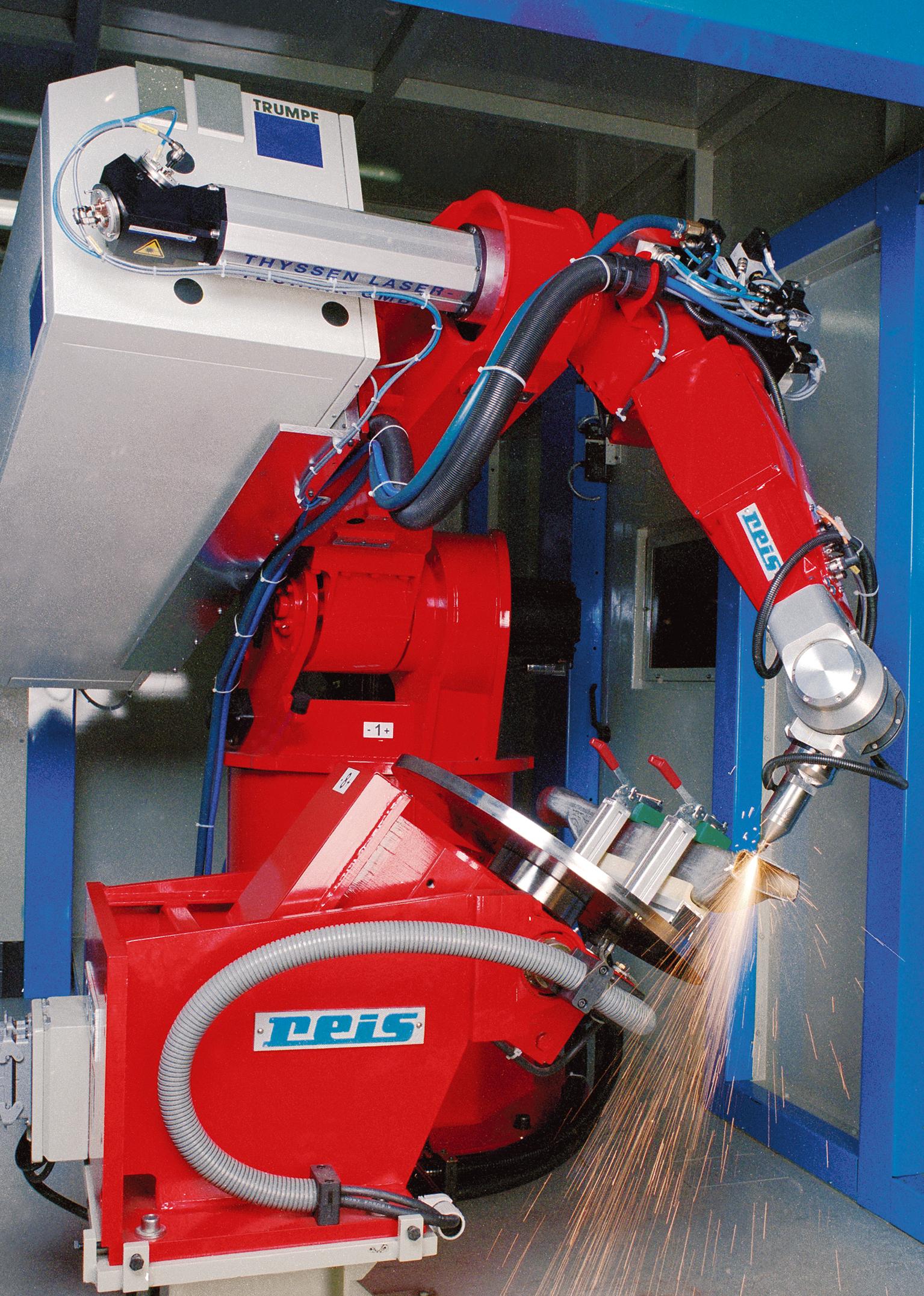 laser welding robot