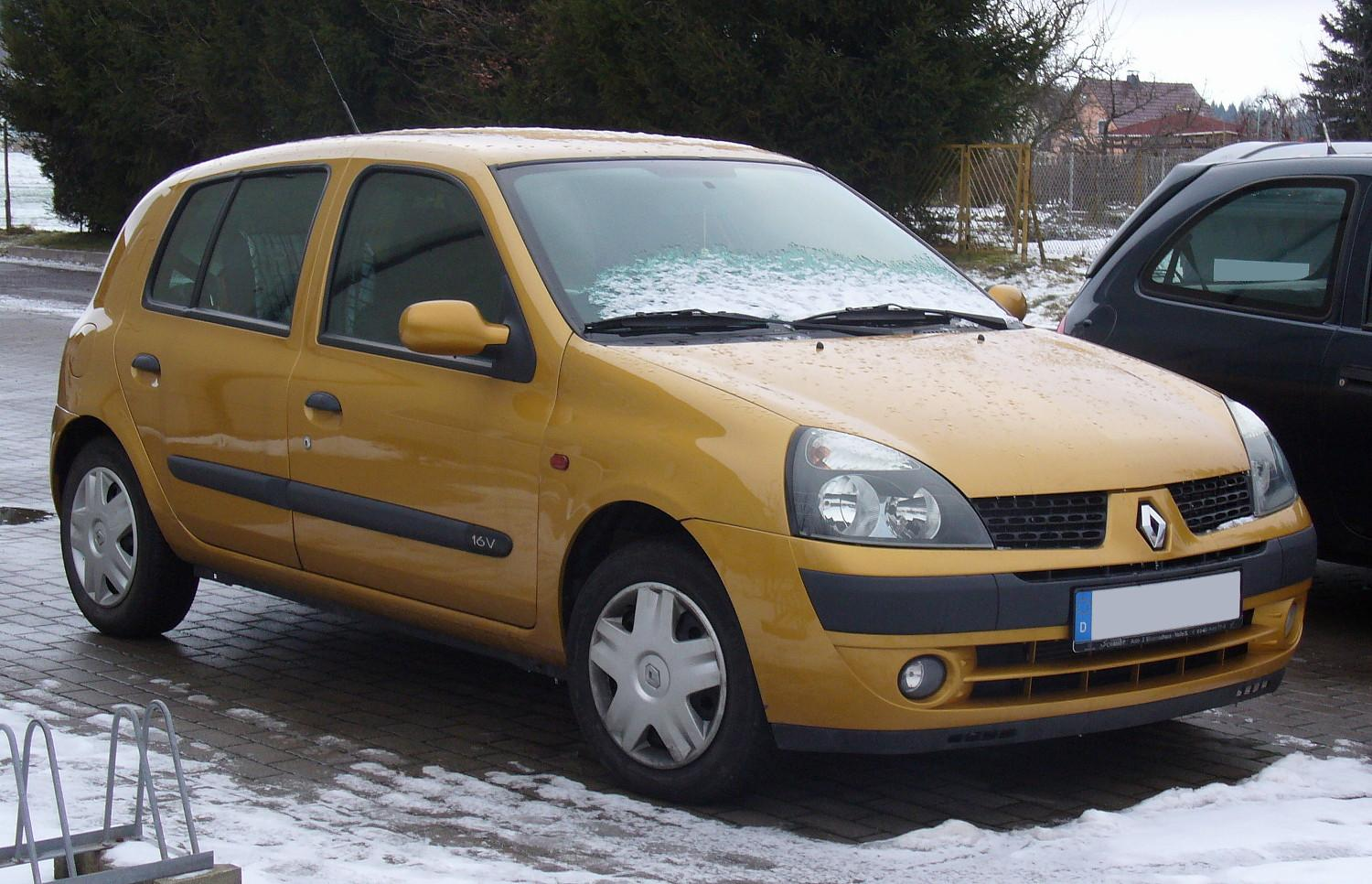 renault clio ii wikipedia autos post. Black Bedroom Furniture Sets. Home Design Ideas