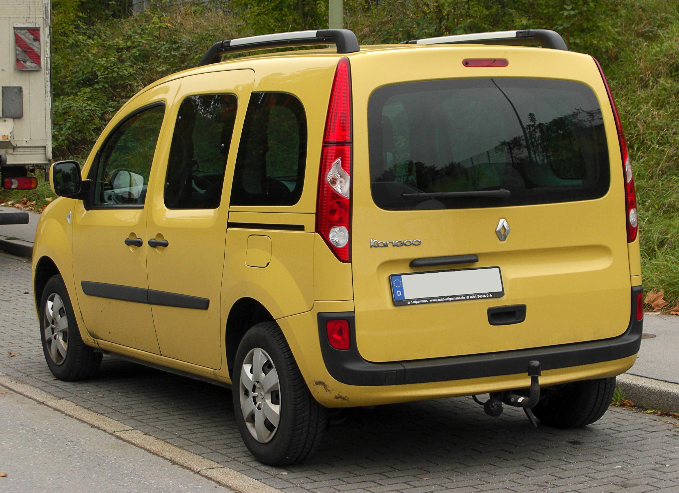 file renault kangoo ii rear wikimedia commons. Black Bedroom Furniture Sets. Home Design Ideas