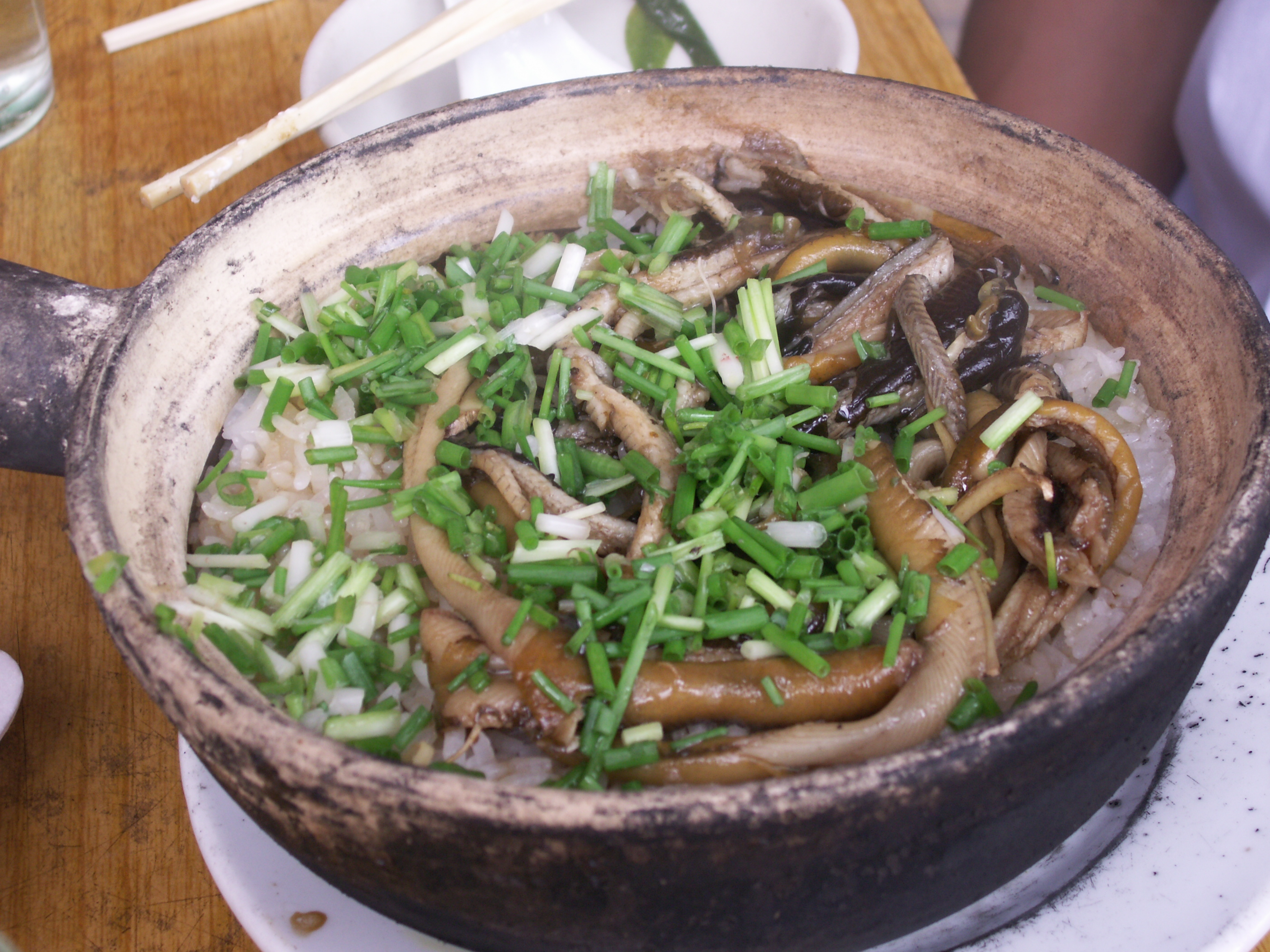 Rice With Swamp Eel