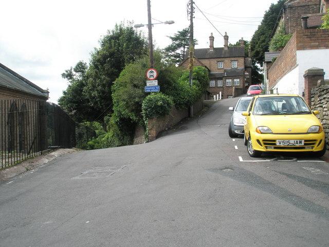 File:Road fork just past St Luke's - geograph.org.uk - 1466998.jpg