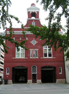 Roanoke's Historical Fire Station#1: The Firehouse opened in 1907 and is the oldest operating Firehouse in Virginia.