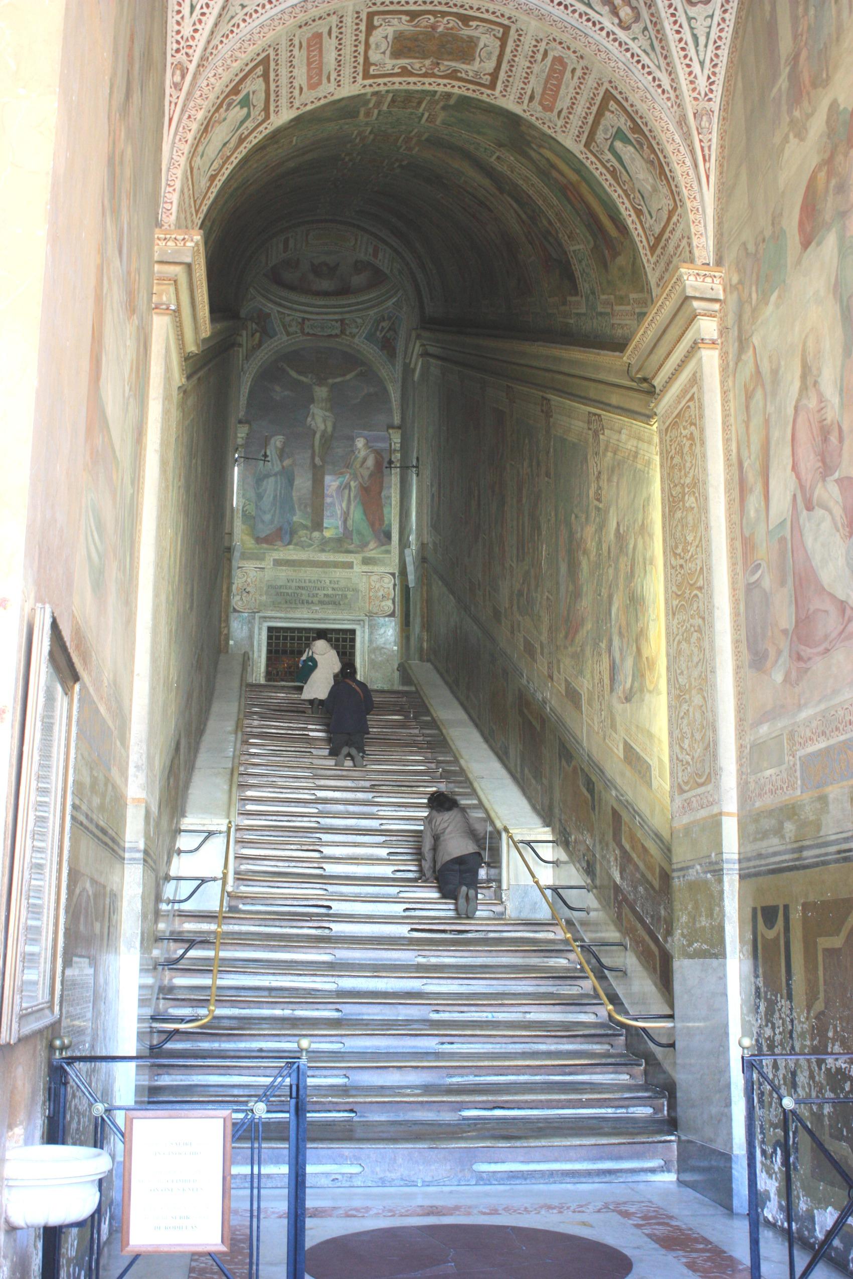 Heilige Treppe Rom