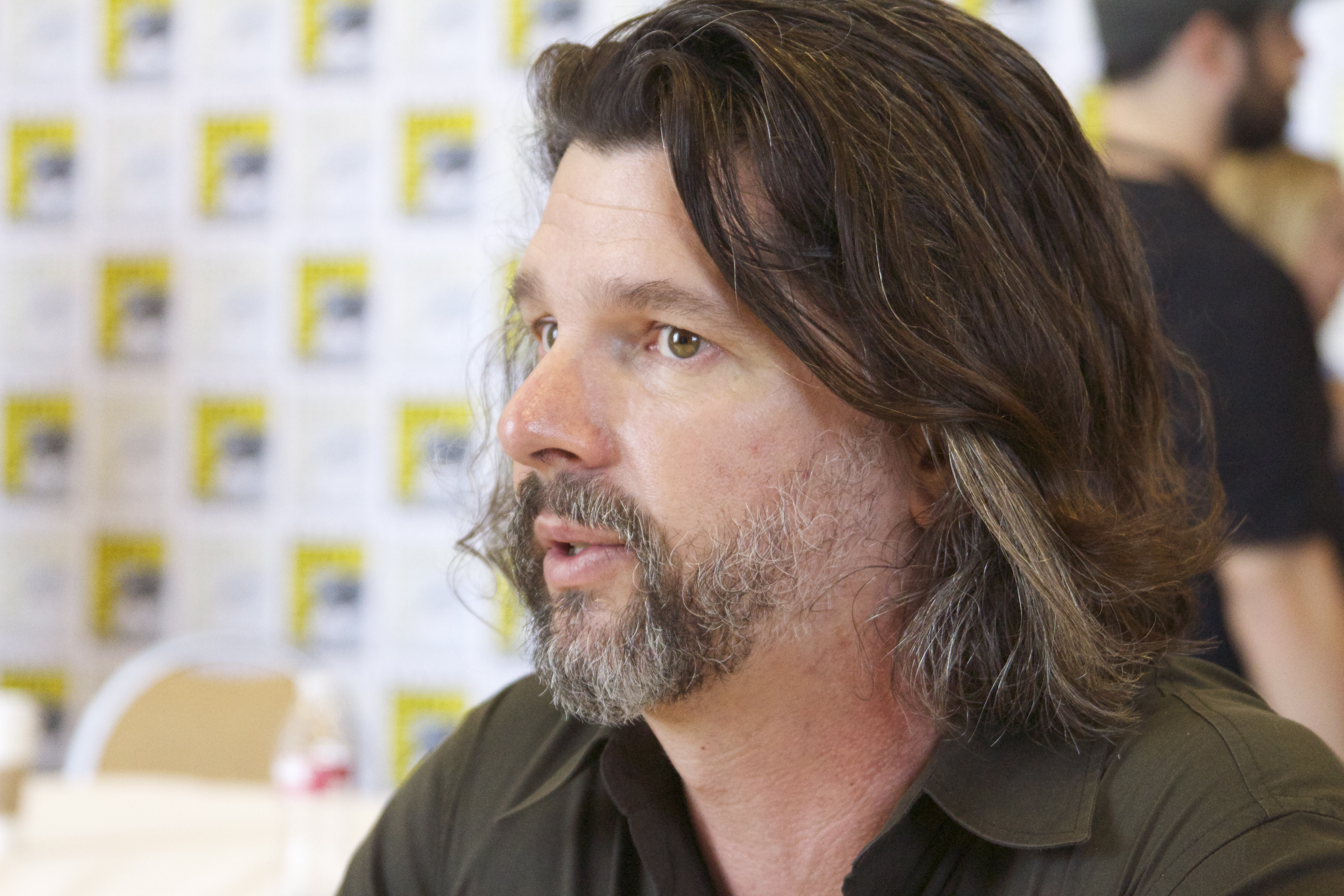 Moore at the 2013 [[San Diego Comic-Con International]]