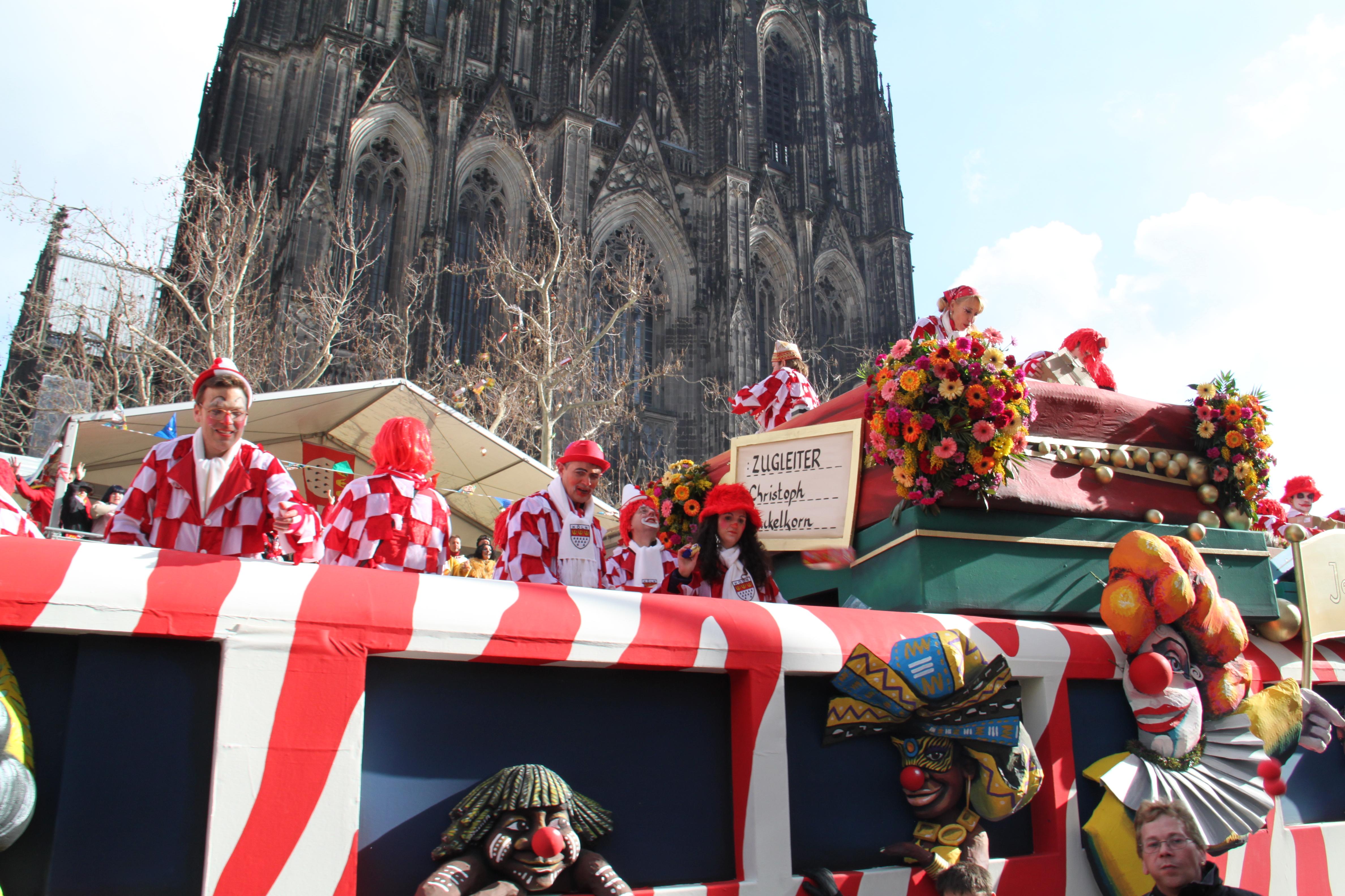Tribünenkarten Rosenmontagszug Köln