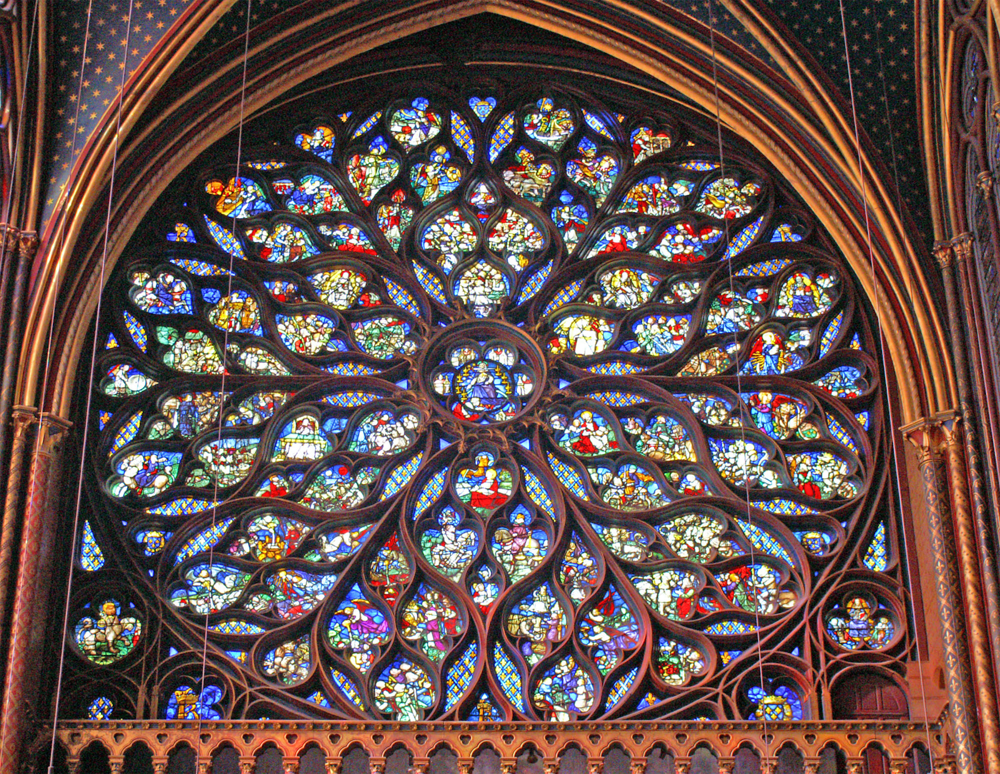 Description Sainte Chapelle - Rosace.jpg