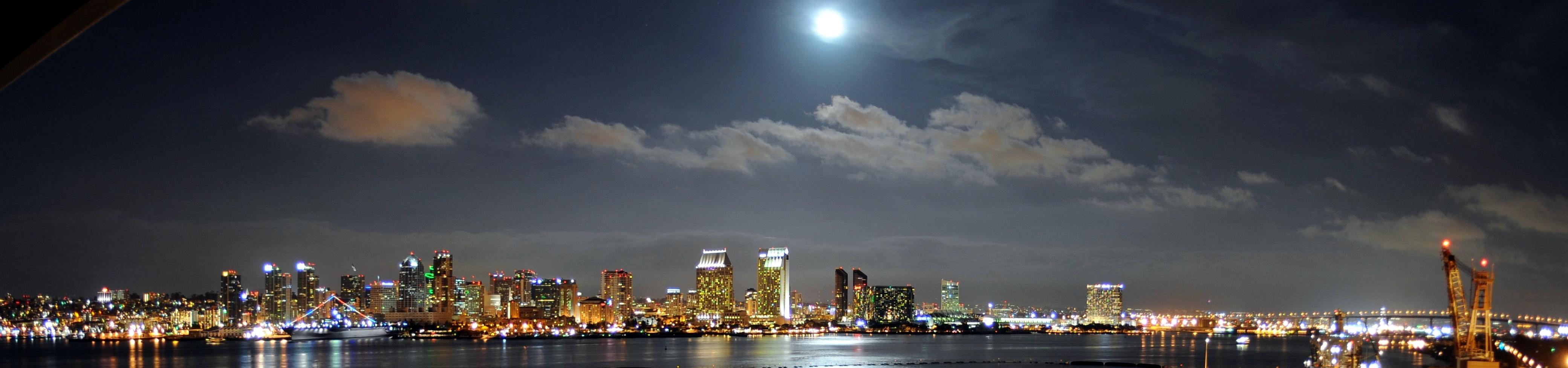 San Diego Downtown Skyline Today