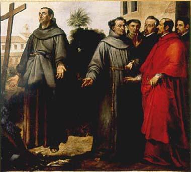Bartolomé Esteban Murillo (1617-82): Diégo i ekstase foran korset (1645-46)