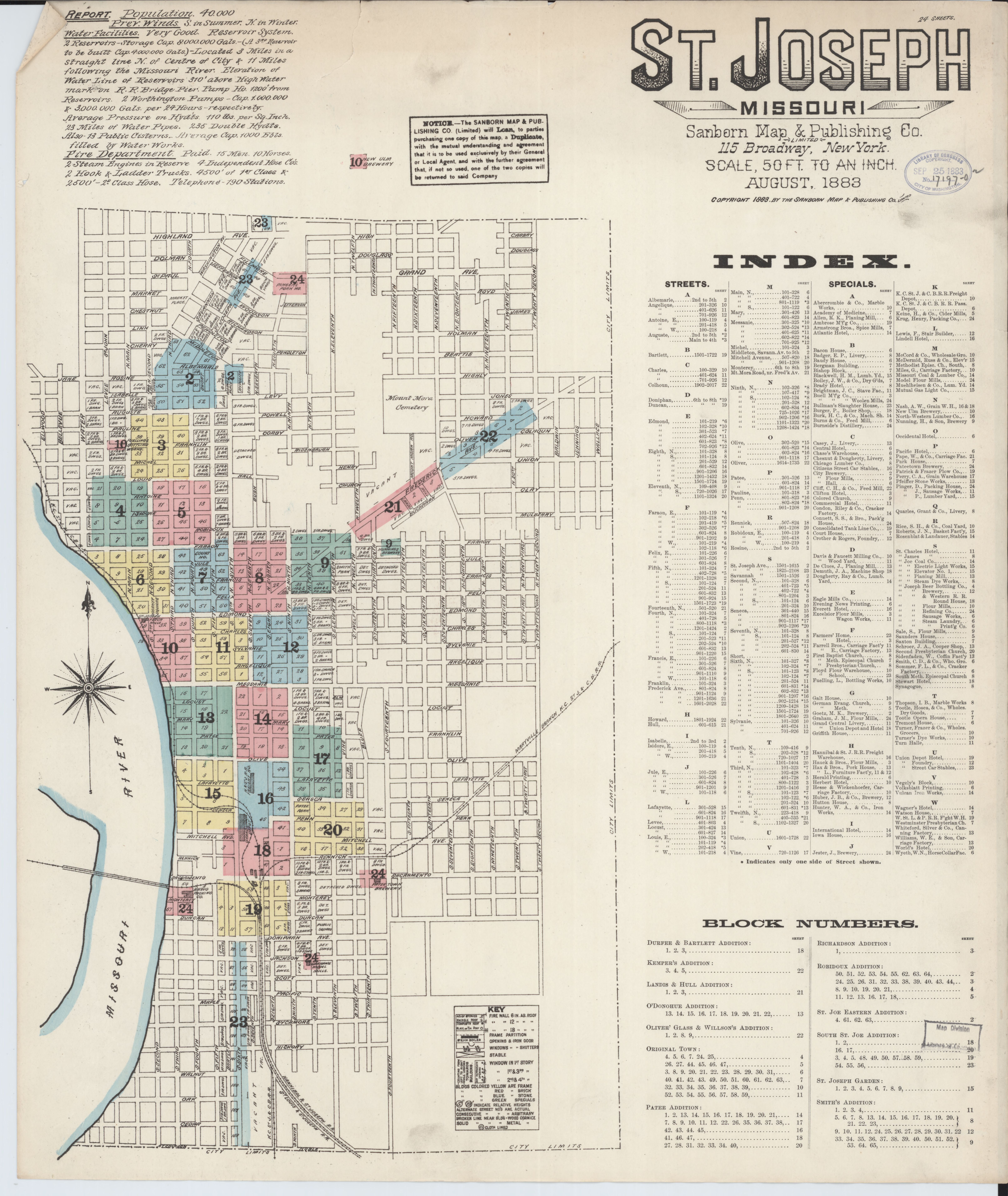 File Sanborn Fire Insurance Map From Saint Joseph Bachanan County