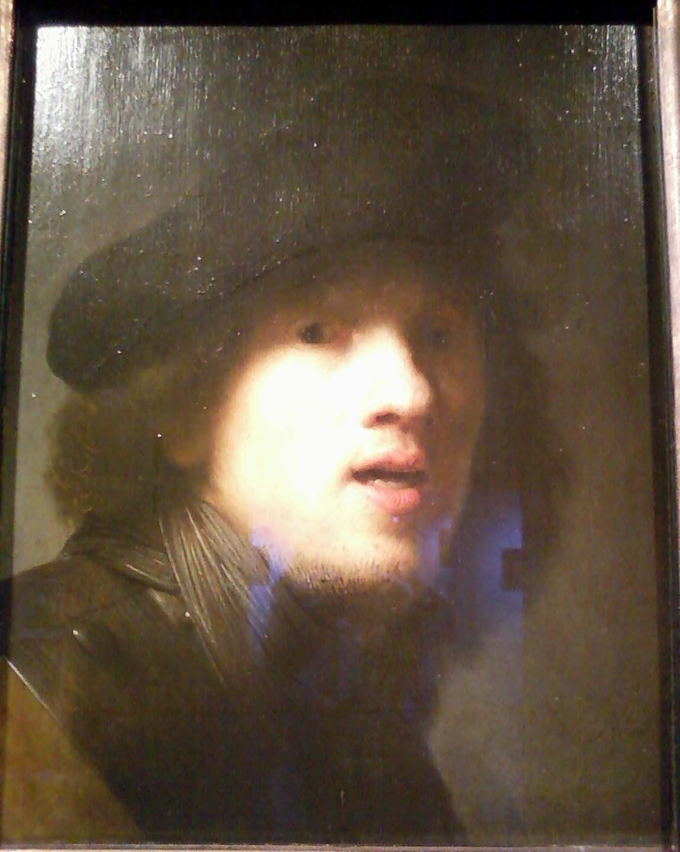 Rembrandt Van Rijn Self Portrait 1629 File:Self Portrait by ...