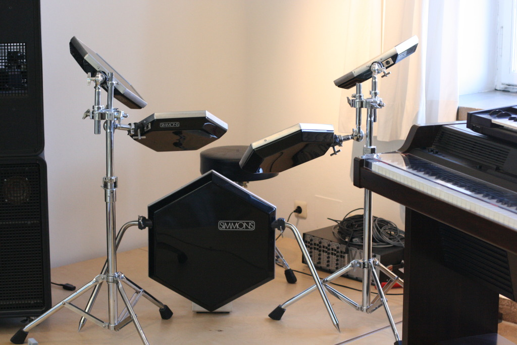 Electric Drum Set Dorm Room