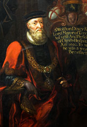 Wolstan Dixie Lord Mayor of London, 1585-1586