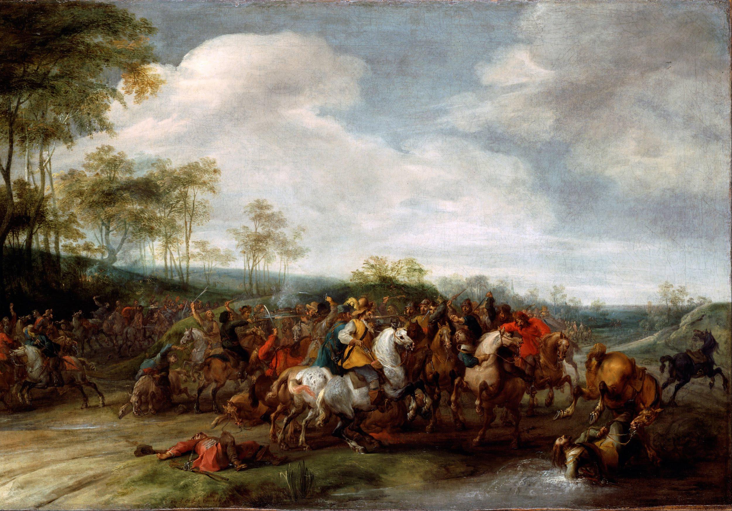 Snayers C Pieter Cavalry Skirmish Google Art Project