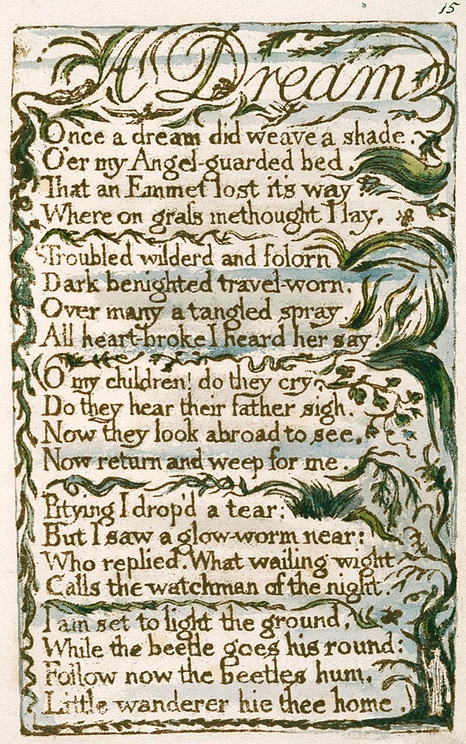 A Dream Blake Poem Wikipedia