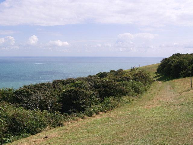 South Downs Way - Beachy Head - geograph.org.uk - 527223