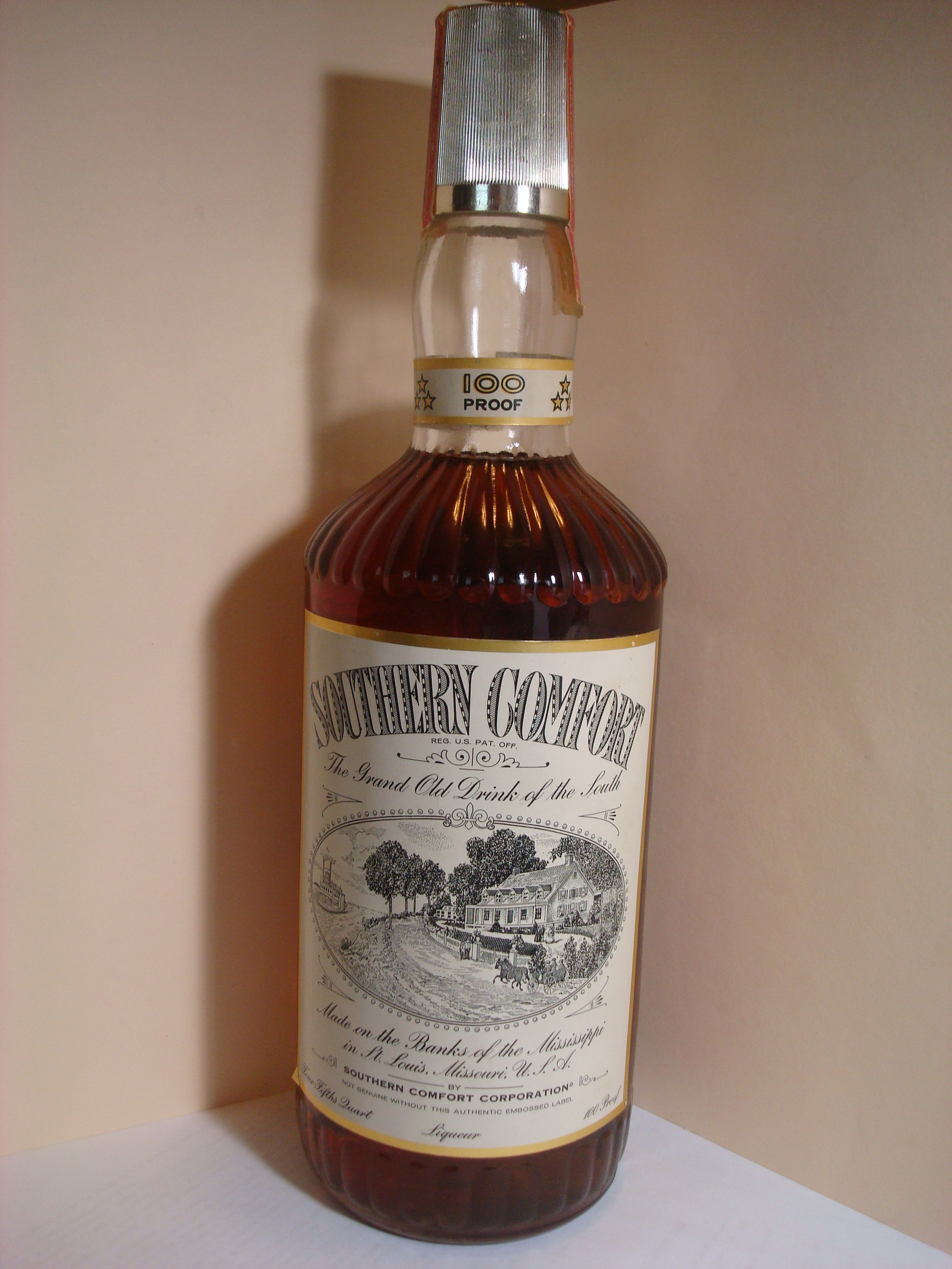File Southern Comfort Bottle St Louis Era Jpg