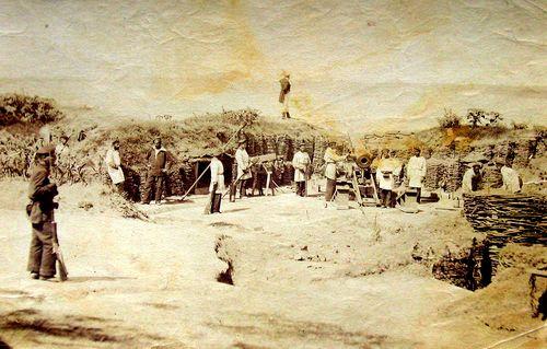 Tun românesc pe malul Dunării(1877) - Carol Popp de Szathmary