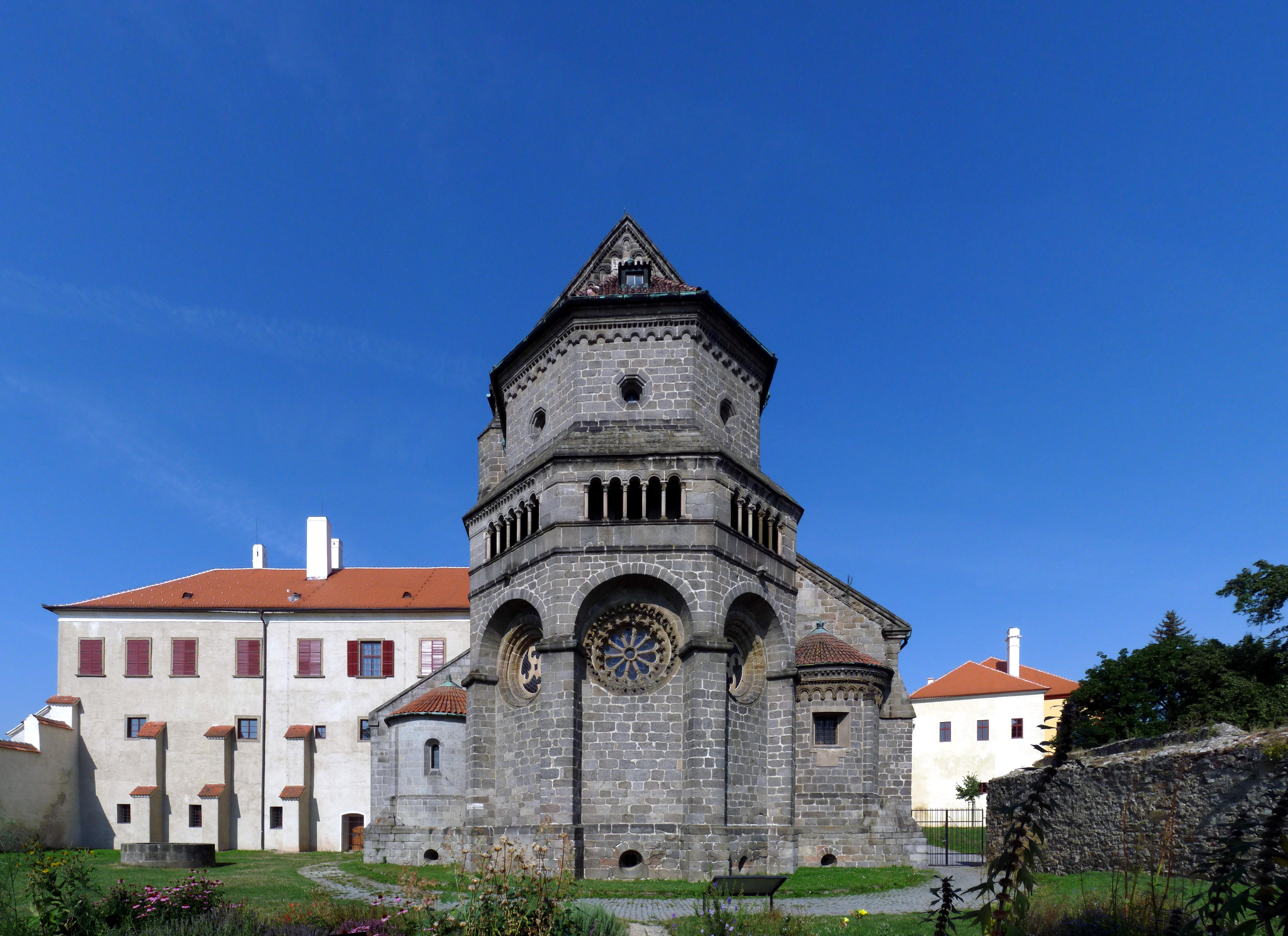 bazilika třebíč